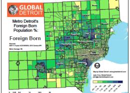 Metro Detroit's Foreign-born Populations--Full