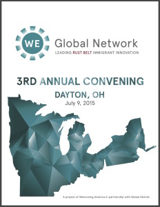 WE 2015 Program Cover